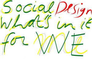 Social design, what's in it for WE