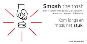 Poster Smash the Trash