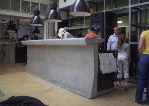 Cementen bar koekfabriek