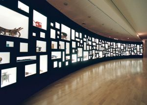 Tentoonstellingskast stedelijk museum Alkmaar