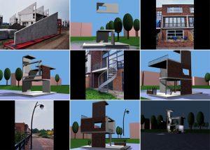 Modellen voor open huis Valhorst