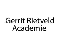 Logo gerrit rietveld academie